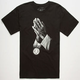 ROOK Praying Hands Mens T-Shirt