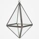 Geometric Hanging Terrarium