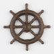 Ships Wheel Bottle Opener