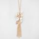 FULL TILT Flower/Leaf/Tassle Necklace
