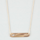 FULL TILT Heart Cutout ID Tag Necklace