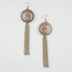 FULL TILT Medallion/Fringe Earrings
