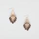 FULL TILT Tribal Teardrop Earrings