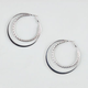 FULL TILT Clutchless Double Hoop Earrings