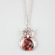 FULL TILT Floral Owl Necklace