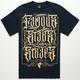 FAMOUS STARS & STRAPS Olde Black Mens T-Shirt