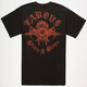 FAMOUS STARS & STRAPS Chief Mens Pocket Tee
