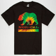 NOR CAL Tie Dye Bear Mens T-Shirt