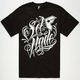 FAMOUS STARS & STRAPS Self Made Script Mens T-Shirt