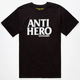 ANTI HERO Black Hero Mens T-Shirt