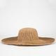 Paper Braid Womens Floppy Hat