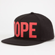 DOPE Large Logo Mens Snapback Hat