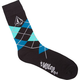 VOLCOM Argyle Mens Crew Socks