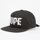 DOPE M.O.B. Mens Tie Back Hat