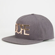DOPE Gold Plate Mens Snapback Hat