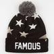 FAMOUS STARS & STRAPS Pledge Beanie