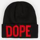 DOPE Bold Logo Beanie