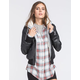 FULL TILT Sherpa Lined Womens Faux Leather Jacket