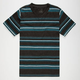 BLUE CROWN Zig Zag Stripe Boys T-Shirt