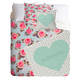 DENY DESIGNS Hello Floral Twin Bed Set