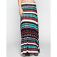 FULL TILT Linear Stripe Maxi Skirt