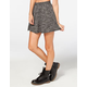 FULL TILT Salt & Pepper Skater Skirt