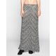 FULL TILT Chevron Stripe Maxi Skirt