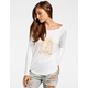 BILLABONG Rather Be Womens Thermal Tee