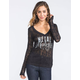METAL MULISHA Ambition Womens Burnout Tee