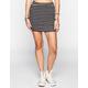 FULL TILT Striped Bodycon Skirt