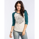 VANS Yard Shop Womens Baseball Tee
