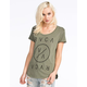 RVCA Highest End Womens Tee