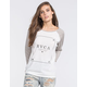 RVCA Playing Womens Baseball Tee
