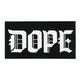 DOPE Calligraphy Sticker