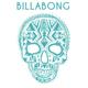 BILLABONG Dia De Los Vivos Sticker