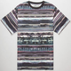 LRG Research Stripe Mens Pocket Tee