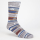 VANS Baja Stripe Mens Crew Socks