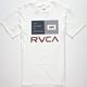RVCA Balance Bars Mens T-Shirt