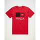 RVCA Balance Bars Mens T-Shirt