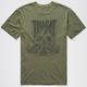 RVCA Spade Mens T-Shirt