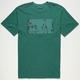 RVCA Lines Mens T-Shirt