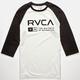 RVCA Associate Mens Baseball Tee
