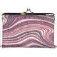 Swirl Stripe Kiss Lock Wallet