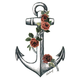 BILLABONG Rose Anchor Sticker