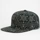 LRG Transit Mens Reflective Snapback Hat