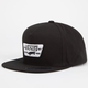 VANS Full Patch Mens Snapback Hat