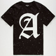 AURA GOLD Paint Splatter Mens T-Shirt