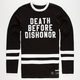 40OZ NYC Death Before Dishonor Mens Sweatshirt