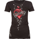 SINFUL Thorned Star Womens Tee