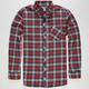 RIP CURL Portola Mens Flannel Shirt
